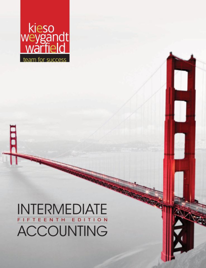 Intermediate Accounting, (15th Edition) [Ebook]