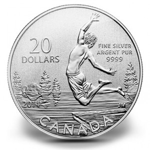 $20 for $20 Fine Silver Coin – Summertime (2014)