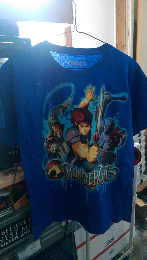 Thundercats T Shirt Blue Size Large