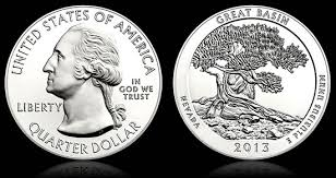 2013 Great Basin National Park 5 oz Silver ATB
