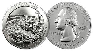 2014 Shenandoah National Park 5 oz Silver ATB