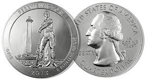2013 Perry's Victory & Peace Memorial 5 oz Silver