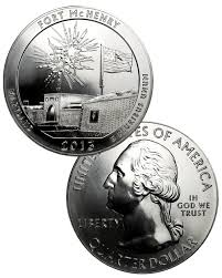 2013 Fort McHenry National Park 5 oz Silver ATB