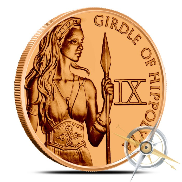 Girdle of Hippolyta 1 oz Copper | The 12 Labors of Herc
