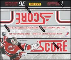 2011-12 Score Hockey 36 Pack Box