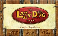 Lazy Dog Restaurant $100 Gift Card INSTANT 2x$50