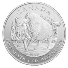 2013 1 oz Silver Canadian Wildlife Series – Wood B...