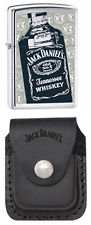 Zippo Jack Daniels Lighter with Pouch