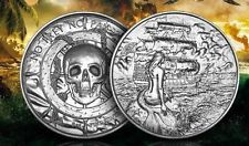 Elemetal 2 oz Silver Siren Ultra High Relief Round