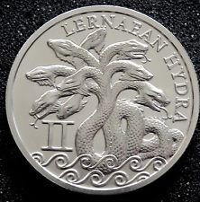 Lernaean Hydra 1 oz Silver | The 12 Labors of Hercules