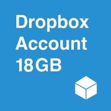 Dropbox Cloud Storage 18 GB space + Lifetime