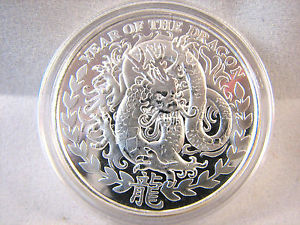 2011 Republic Of Somaliland 1000 Shillings YOT Dragon