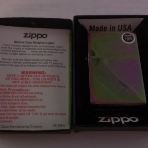 Zippo Reg Spectrum Media Lighter