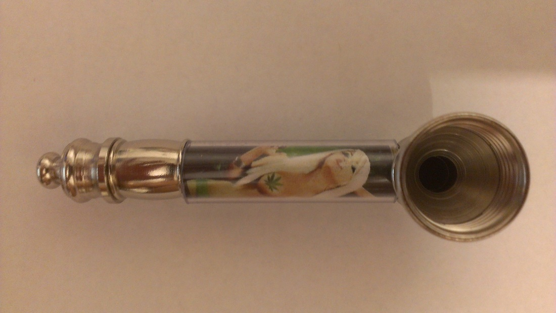 3″ Metal Pipe – Hot Chick