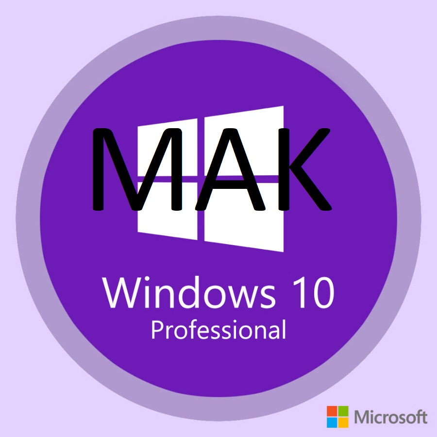 Windows 10 - Windows 10 Pro MAK 20 activation