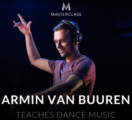 Masterclass Armin van Buuren Teaches Dance Music