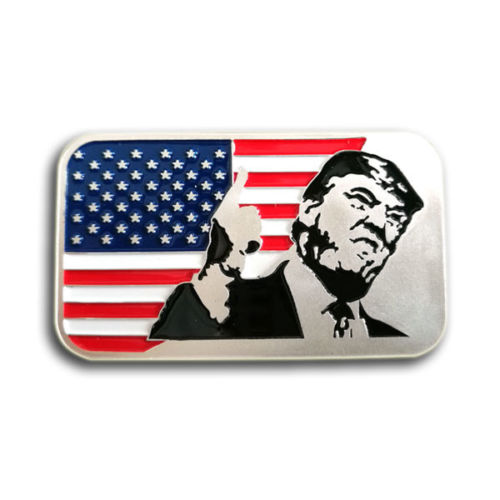 1 oz .999 Fine Silver Trump Bar