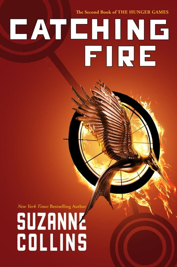 Hunger Games 2 Catching Fire by Suzanne Collins