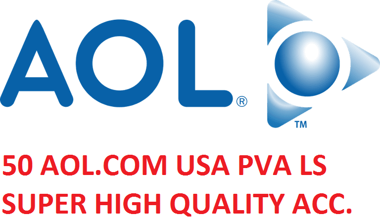50 AOL.COM USA PVA LS SUPER HIGH QUALITY ACCOUNTS