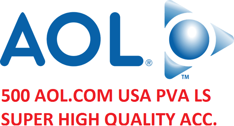 500 AOL.COM USA PVA LS SUPER HIGH QUALITY ACCOUNTS