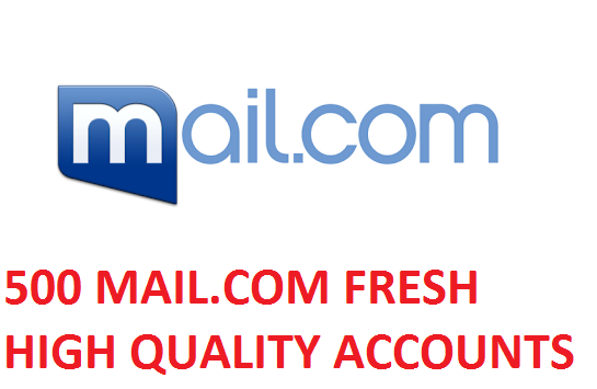 500 MAIL.COM FRESH HIGH QUALITY ACCOUNTS