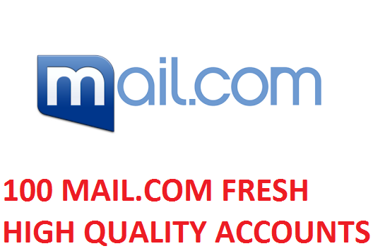 100 MAIL.COM FRESH HIGH QUALITY ACCOUNTS