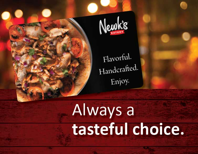 $25 Newks Gift cards