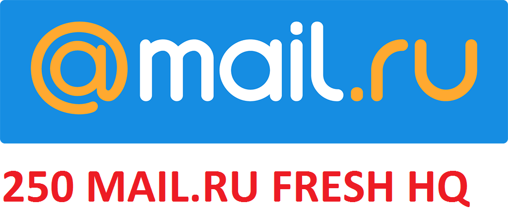 250 MAIL.RU SMTP POP3 IMAP FRESH HIGH QUALITY ACCOUNTS
