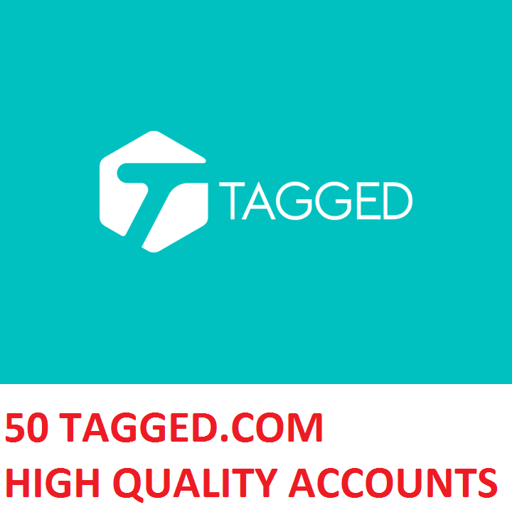 50 TAGGED.COM HIGH QUALITY ACCOUNTS