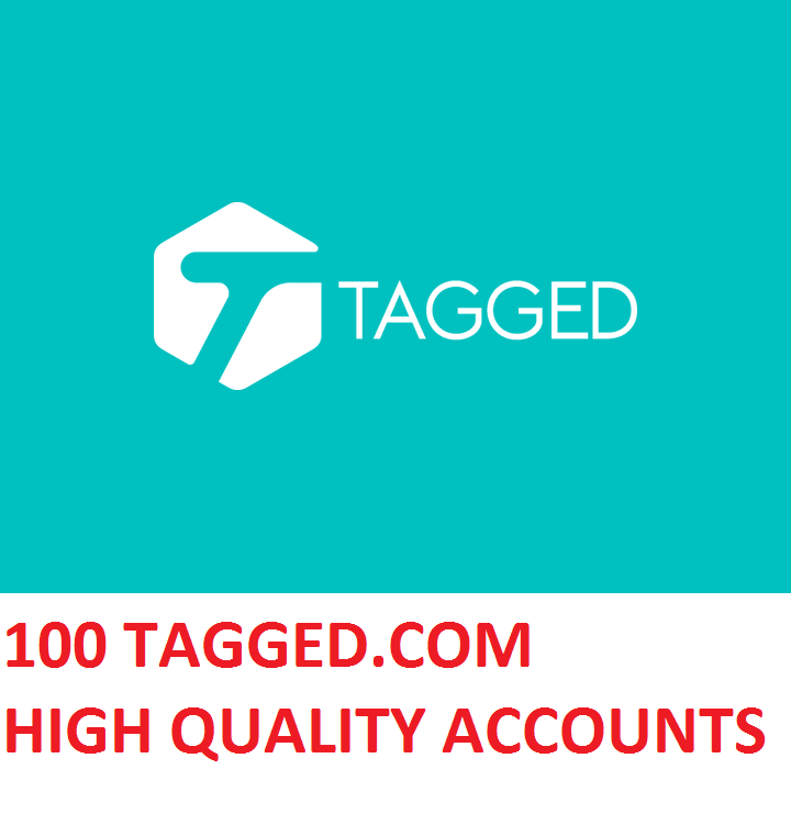 100 TAGGED.COM HIGH QUALITY ACCOUNTS