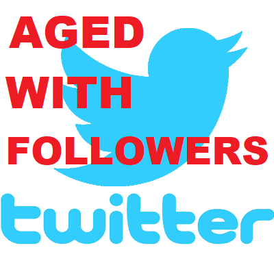 Aged Twitter Accounts Verified HQ PVA + 100 Followers
