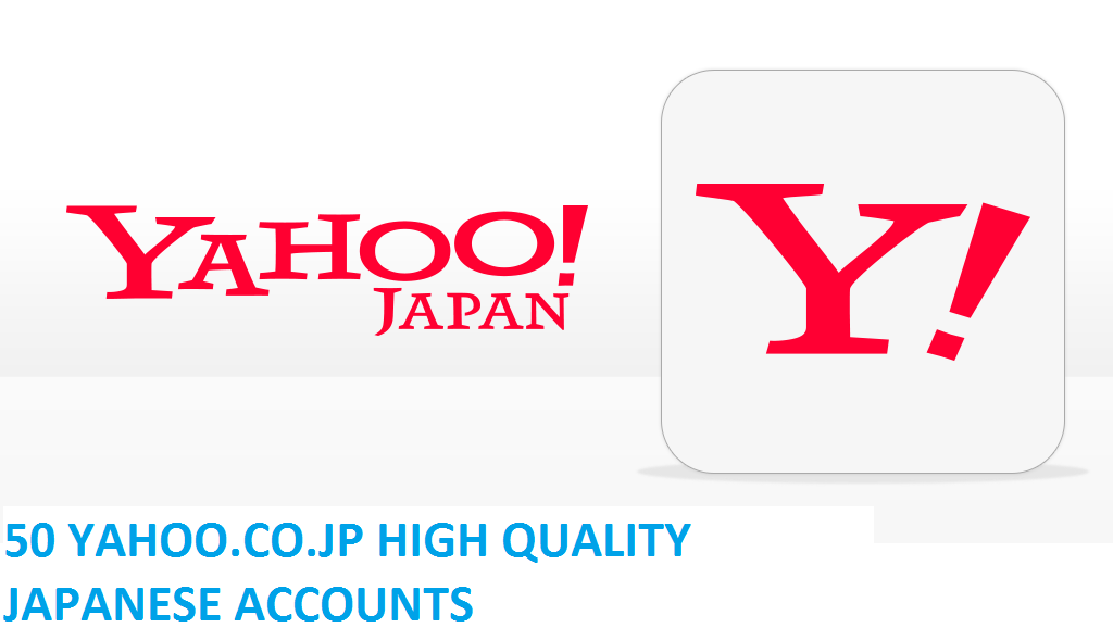 50 YAHOO.CO.JP HIGH QUALITY JAPANESE ACCOUNTS