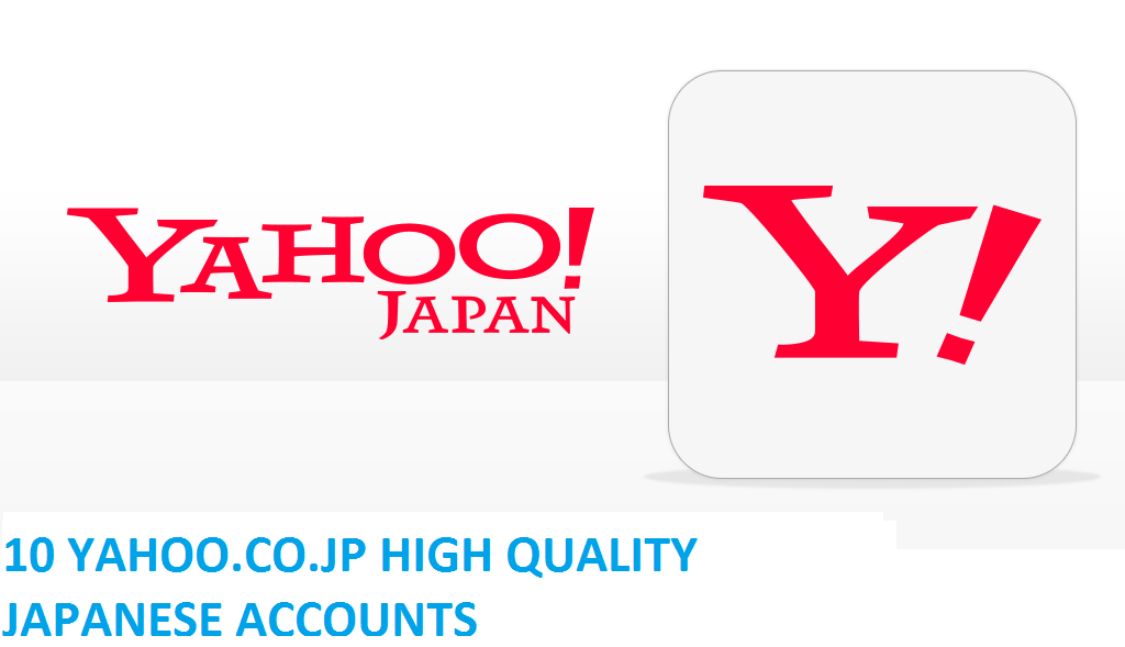 10 YAHOO.CO.JP HIGH QUALITY JAPANESE ACCOUNTS