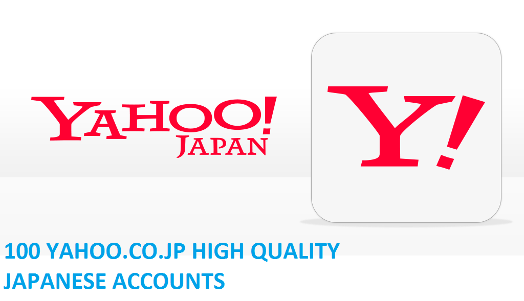 100 YAHOO.CO.JP HIGH QUALITY JAPANESE ACCOUNTS