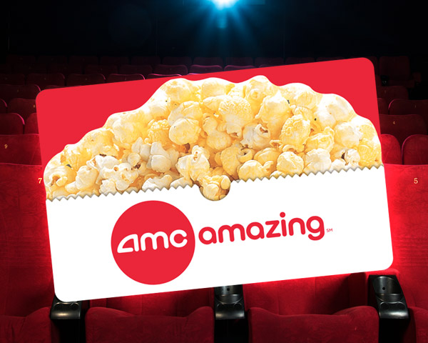Amc Theatres Gift Card $200 ( 8*$25 )