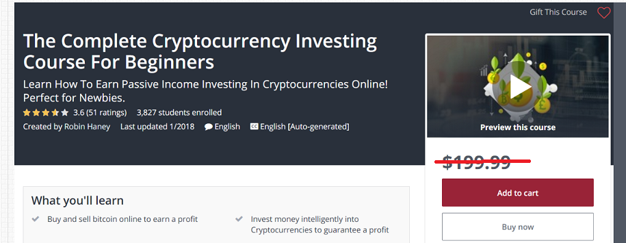 The Complete Cryptocurrency Investing For Beginners