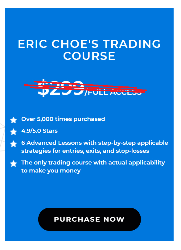 Ultimate Crypto Trading System course By Eric Choe