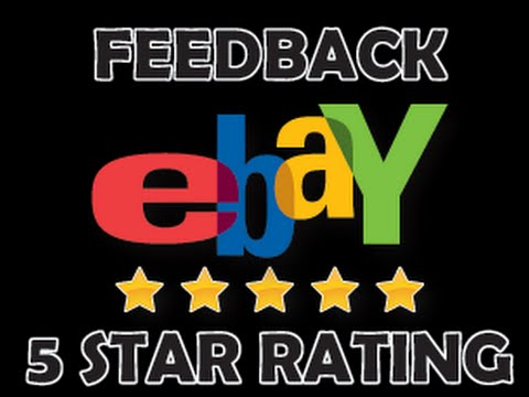5x eBay Reviews For Sale 5 Star Positive Feedback �...