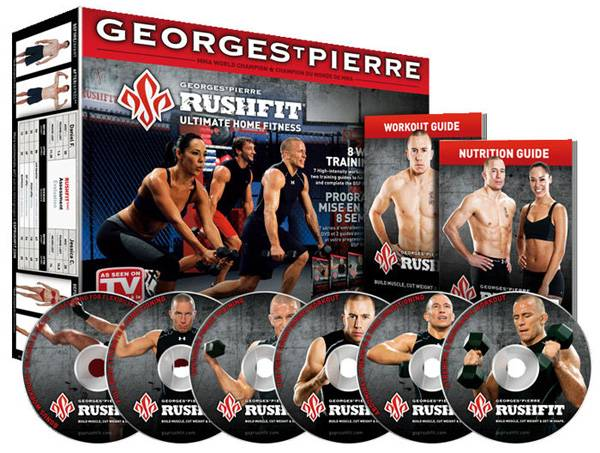 Georges St-Pierre - GSP Rushfit: 8 Wk Training Progra