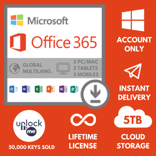 Microsoft Office365 2016 LIFETIME Access + Pro FREEBIES