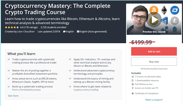 The Complete Crypto Trading Video Course