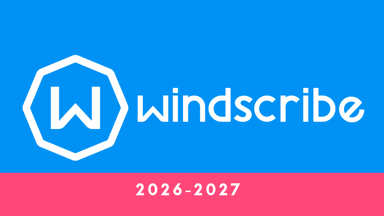 Windscribe vpn pro – subscription till 2026-2027 y...