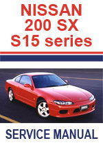 Nissan Silvia S15  Workshop Repair Manual