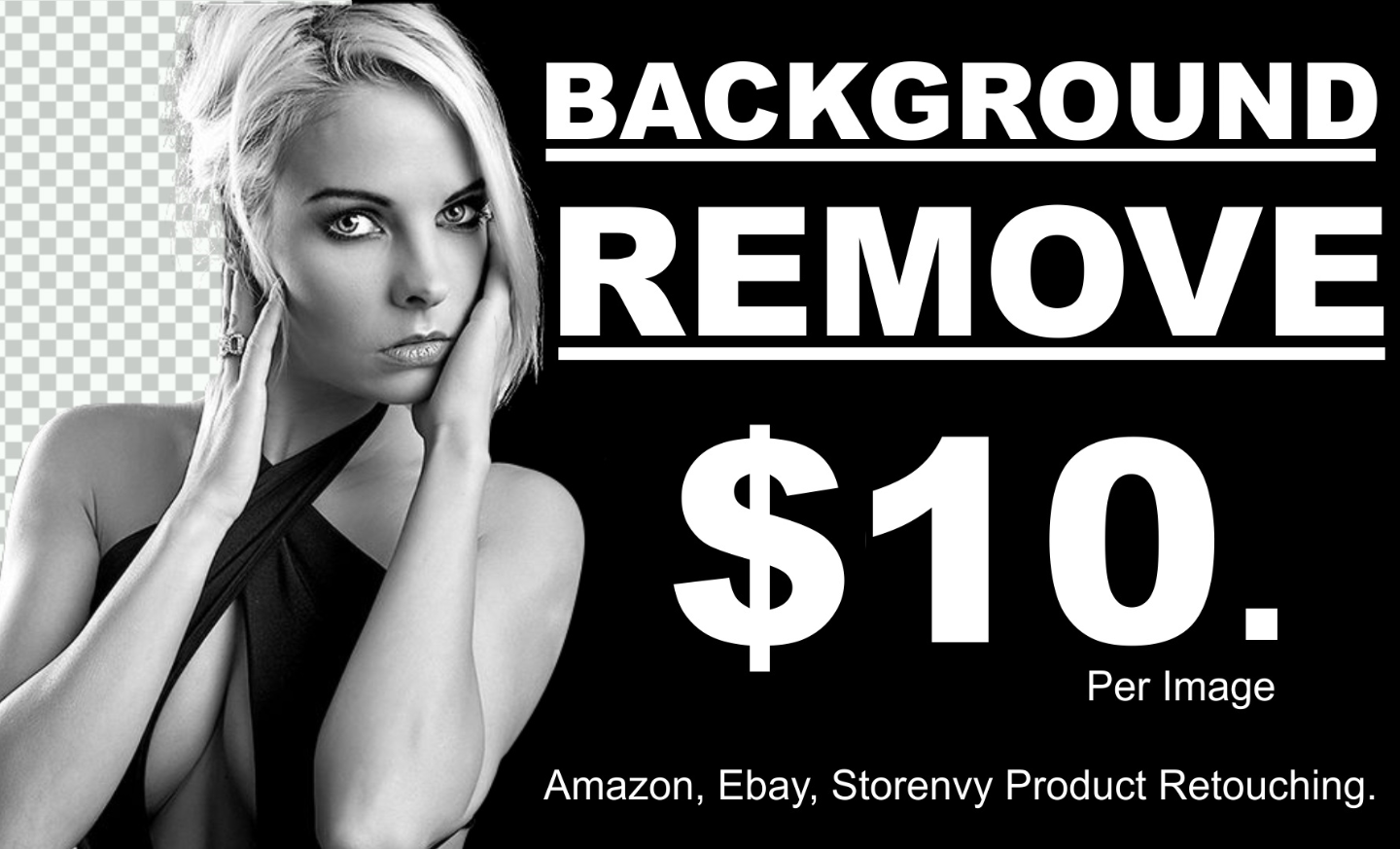Background Removal Service for Amazon eBay Products