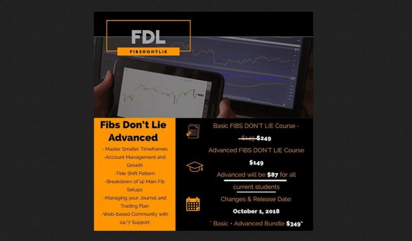 Main and Advanced Fibs Don't Lie Course (Bundle)