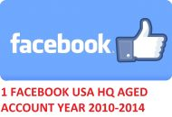 1 FACEBOOK.COM HQ USA AGED ACCOUNT YEAR 2010-2014