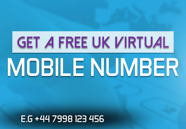 [Method] How To Get Free UK +44 Numbers Work w Whatsapp