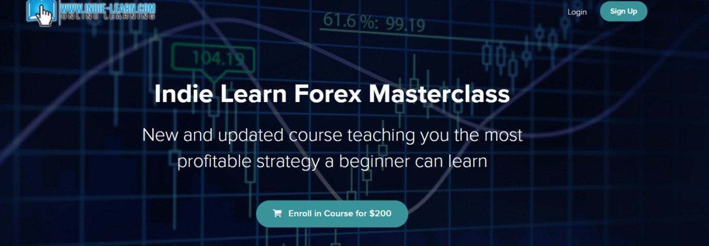 Indie Learn Forex Masterclass Course
