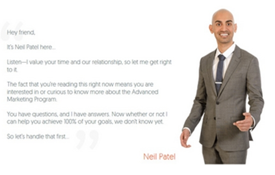 Neil Patel - Advanced Consulting Program