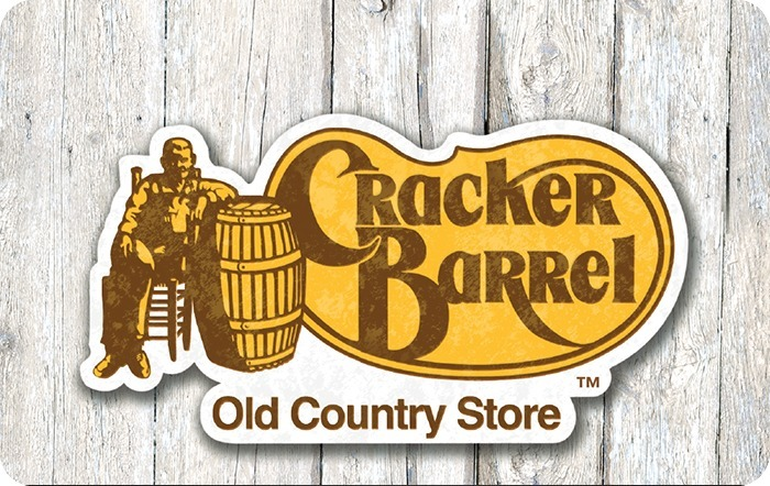 Cracker Barrel GiftCard $100 +pdf